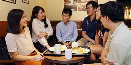 【公關組】全台最狂校園餐廳  興大學生餐廳開幕