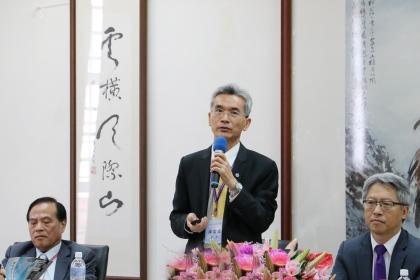 Fuh-Sheng Shieu, President of NCHU