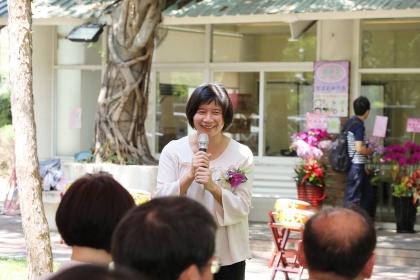 台中市政府林依瑩副市長致詞。