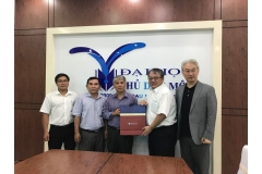 【公關組】興大EMBA強化與越南大學國際交流