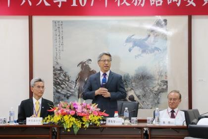 興大7月13日舉行校務諮詢委員會議,由中研院院長廖俊智擔任會議召集人。