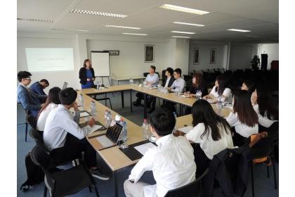 興大國政所推動學海築夢,學生參與歐盟亞洲研究院活動