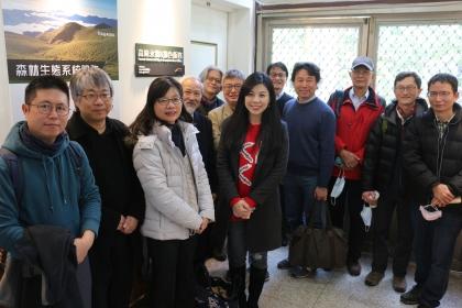 中興大學森林永續與綠色服務辦公室於1月正式啟動,國內產官學界專家學者與NGO組織共同蒞臨指導