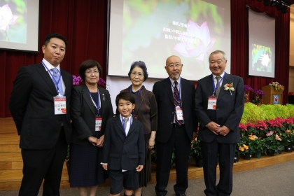 Over-100-Year Super Mission to Seek Persons  – Came to Taiwan the Eldest Son's Descendants  of the First President of National Chung Hsing University