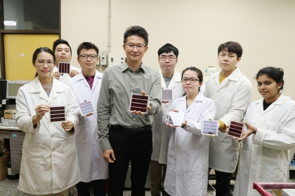 NCHU Increases the Power Generation Efficiency of ''Dye-Sensitized Solar Cells'', Published in the Top International Journal
