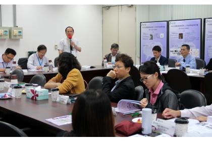 楊長賢副校長代表學校致詞,感謝科技部RAISE計畫經費支持