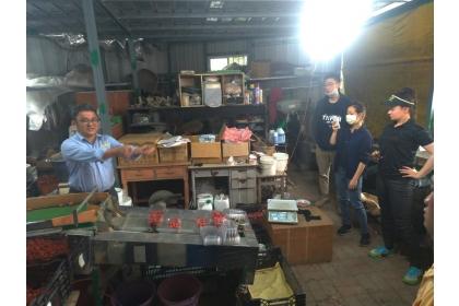 興大農推中心與農服團合作 外籍生體驗台灣多元農業文化