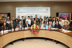 Department of Marketing, NCHU and the New York State University signed an agreement on a dual master's degree