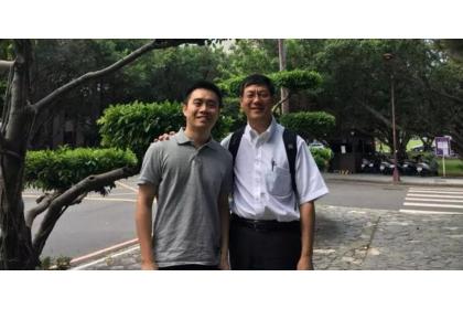 王中林(右)與賴盈至(左)(來源:賴盈至提供)