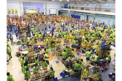 GreenMech機關整合賽8月1日舉辦,共有143個隊伍參加
