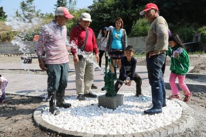 馬鳴里湧泉公園27日舉辦啟用祈福儀式