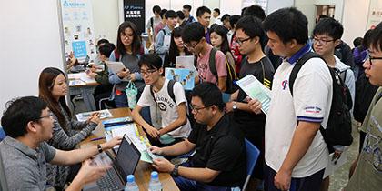 【公關組】興大理學院產學合作與人才培育博覽會 熱鬧登場