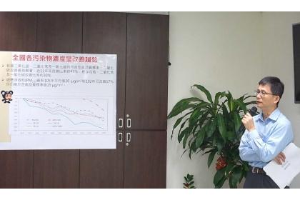 環保署副署長詹順貴(攝影/劉怡馨)