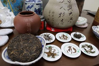 興大團隊證實普洱茶中的主要多酚成分之一,水解型鞣酸單寧-strictinin可有效抑制胰脂解酵素,減緩油脂分解吸收。