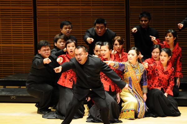 台北愛樂室內合唱團演出照片_《紐約卡內基音樂廳演出照片1(簡一夫/攝影)》