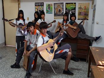 校慶音樂會_表演團體簡介_台中高農耕心吉他社