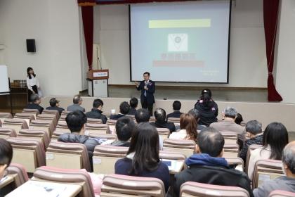 中興大學理學院與國際產學聯盟中心2月1日舉辦「當愛因斯坦遇見愛迪生—產學論壇」